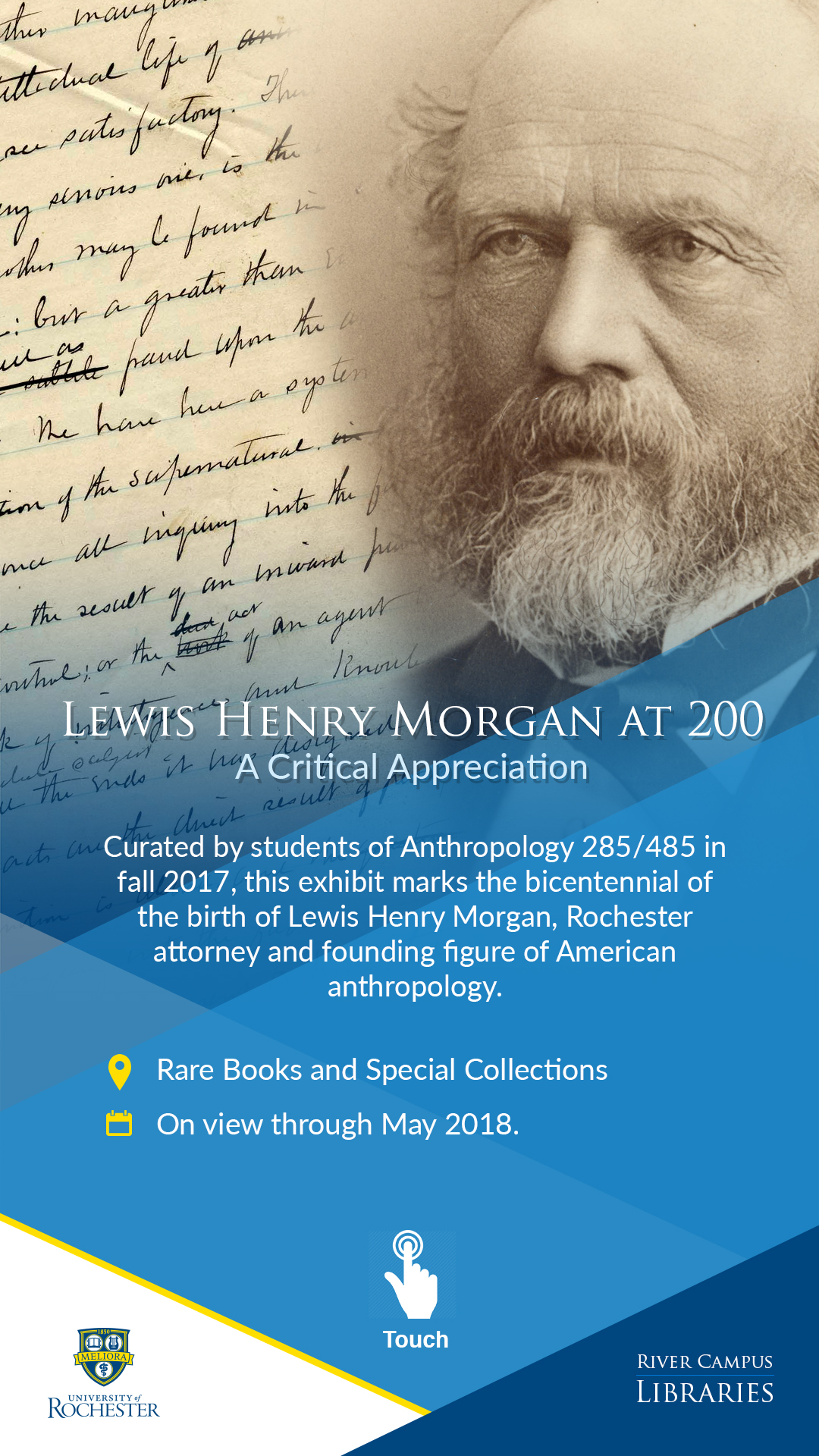 Exhibit: Lewis Henry Morgan at 200: A Critical Appreciation
