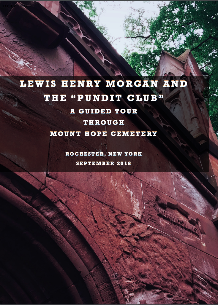 "Lewis Henry Morgan and the ""Pundit Club"""